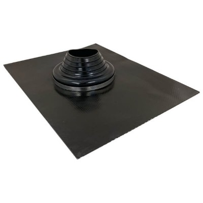 100mm - 150mm Black Leadax Versatile Pipe Flashing VLDXB100-150