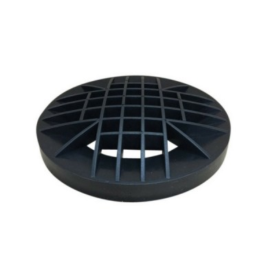 100mm Domed DT Grate Black Poly
