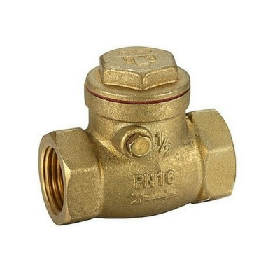 100mm Swing Check Valve Brass Untested