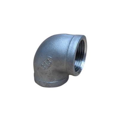 """10mm 3/8"""" Elbow F&F 90 Degree BSP Stainless Steel 316 150lb"""