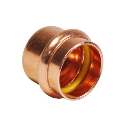 "15mm 1/2"" End Cap Gas Copper Press"