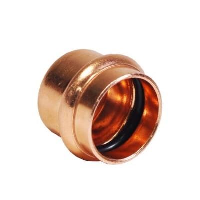 32mm End Cap Water Copper Press
