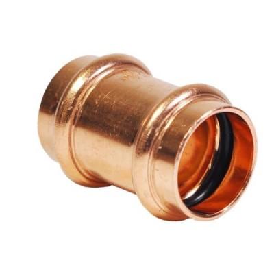 "15mm 1/2"" Slip Coupling Socket Water Copper Press"