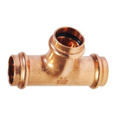 25mm Tee Equal Water Copper Press