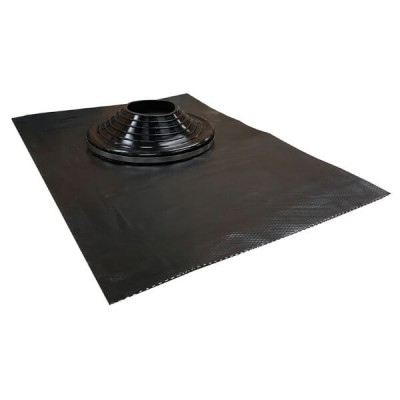 150mm - 300mm Black Leadax Versatile Pipe Flashing VLDXB150-300