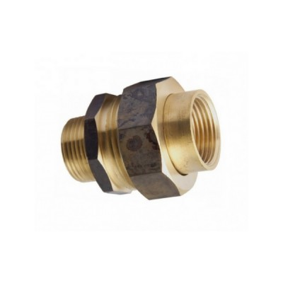 15mm Brass Barrel Union M&F