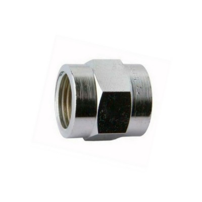 15mm Brass Socket Chrome F&F