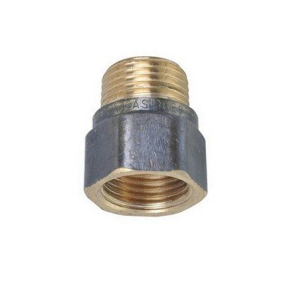 "15mm 1/2"" Brass Socket M&F"