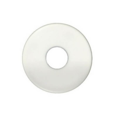 "15mm 1/2"" Flat Cover Plate Plastic Suit BSP"