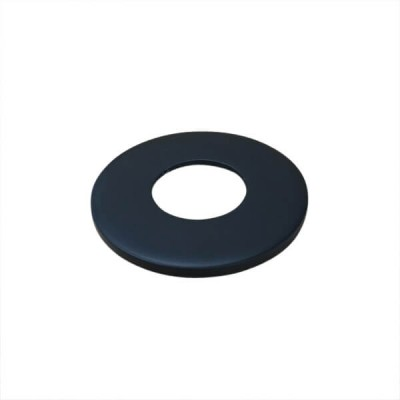 15mm Matt Black Designer Cover Plate Suit BSP CP18MB