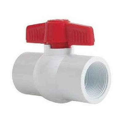 15mm Pvc F&F Ball Valve Teflon Seat