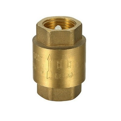 15mm Spring Check Valve Brass Untested