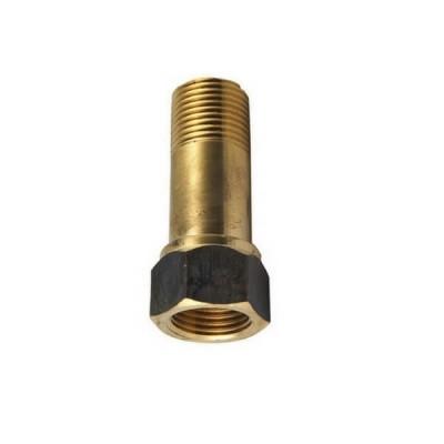 """15mm 1/2"""" X 75mm Brass Extension M&F BSP"""