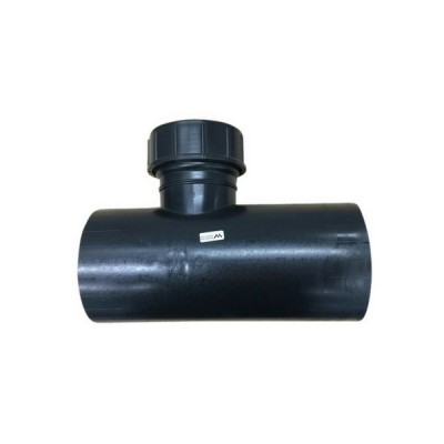 160mm Horizontal Access Tee 27A HDPE Electrofusion