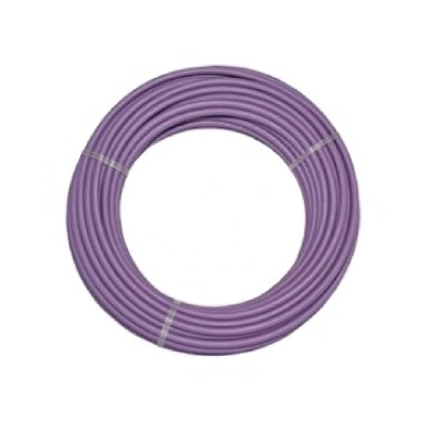 16mm X 50m Lilac Recycled Pex Pipe High Density