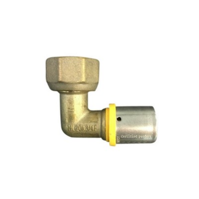 20 X 20mm Loose Nut Elbow Gas Water Pex