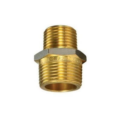 20mm X 15mm Brass Hex Nipple