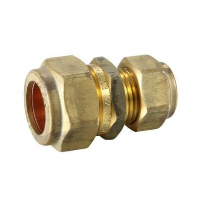 "20mm X 15mm 1/2"" C x C Copper Olive Union Compression"