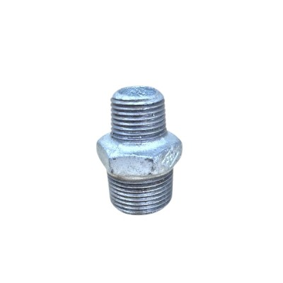 20mm X 15mm Galvanised Hex Nipple Reducing