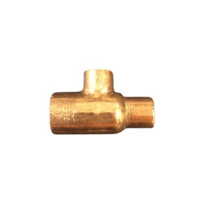 """20mm X 15mm X 15mm 1/2"""" Copper Tee W27"""