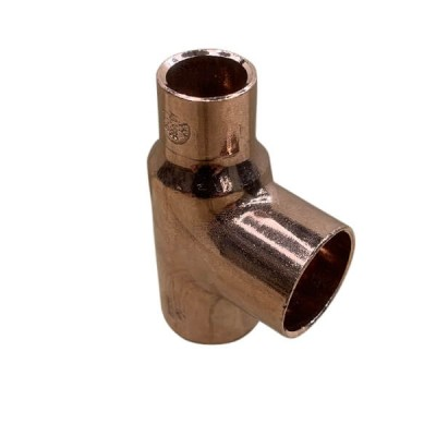 "20mm X 15mm 1/2"" X 20mm Copper Capillary Tee W26"