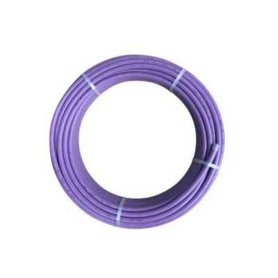 20mm X 50m Lilac Recycled Water Pex B Pipe