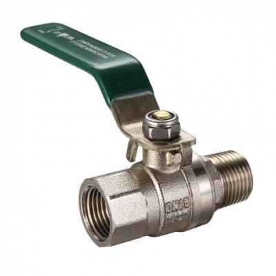 25mm Lever Ball Valve M x F Gas & Water Approved
