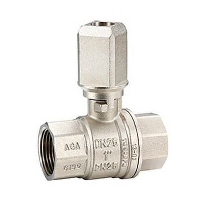 25mm Underground Ball Valve Gas & Water F&F