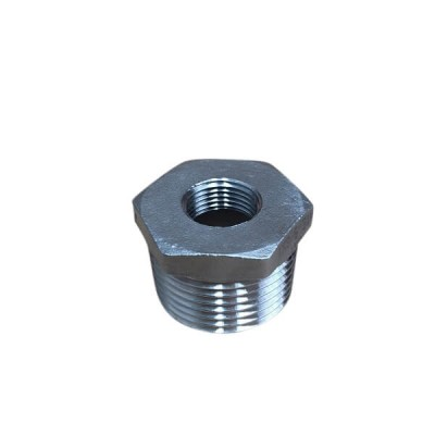"25mm X 10mm 3/8"" Bush Reducing BSP Stainless Steel 316 150lb"