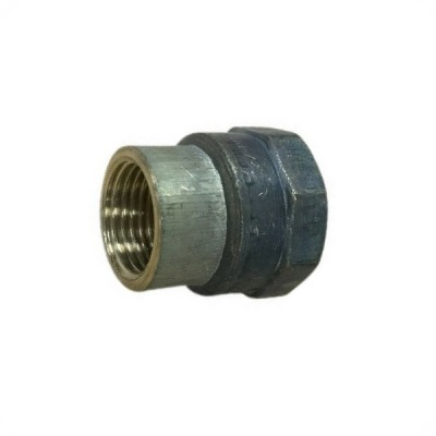 25mm X 20mm Brass Socket Hex F&F