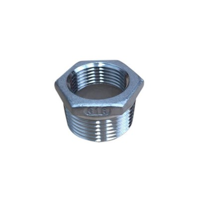 25mm X 20mm Bush Reducing BSP Stainless Steel 316 150lb