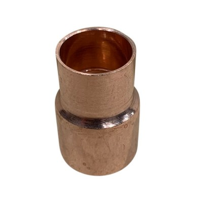 25mm X 20mm Copper Capillary Reducer M x F