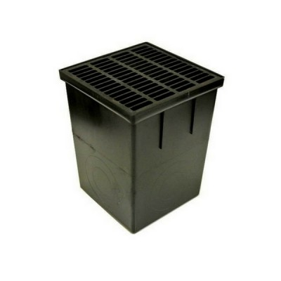 310mm X 310mm X 405mm Storm Water Pit & Black Grate