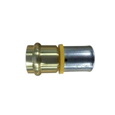 32mm Water Pex To 32mm Copper Crimp Adaptor