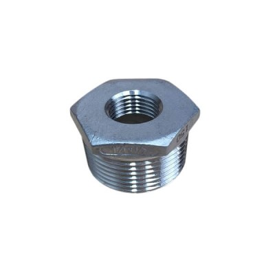 "32mm X 15mm 1/2"" Bush Reducing BSP Stainless Steel 316 150lb"