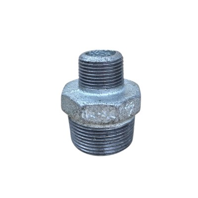 32mm X 20mm Galvanised Hex Nipple Reducing