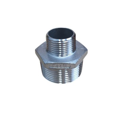 32mm X 20mm Hex Nipple BSP Stainless Steel 316 150lb