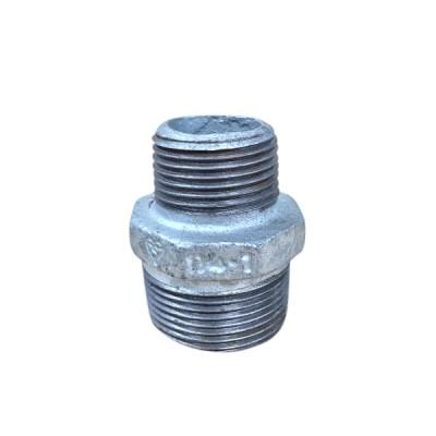 32mm X 25mm Galvanised Hex Nipple Reducing