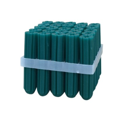 35mm Green Wall Screw Plugs Pvc