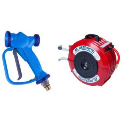 3Monkeez Hot Wash Reel 12M With Swivel Spray Gun T-TWHWR1215SG