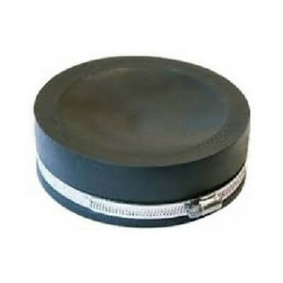 50mm Rubber Plumb Quick End Cap Suit Pvc Galv