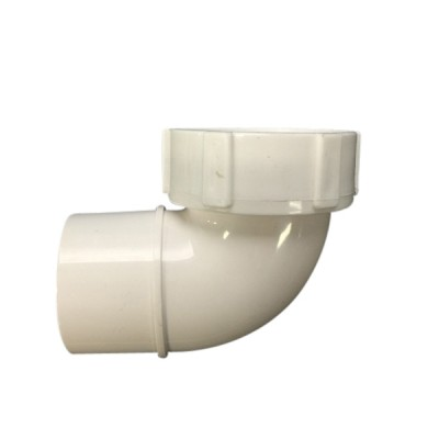 40mm Cap & Lining Low Spigot Elbow Plastec 15472