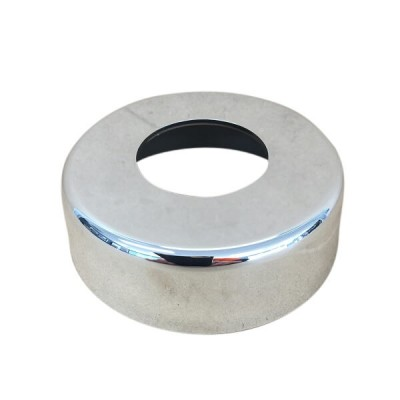 40mm Low Cover Plate Flange Chrome Plastic Suit PVC DWV 17434