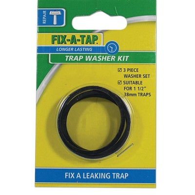 40mm Trap Washer Kit (Card) Fixatap 203809