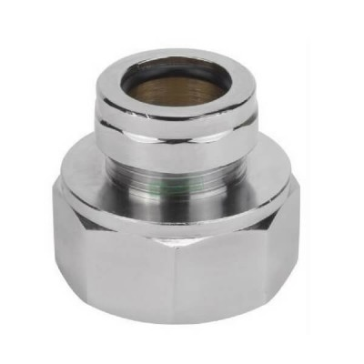 40mm X 25mm Chrome Urinal Sparge Adaptor