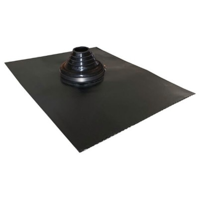 50mm - 90mm Black Leadax Versatile Pipe Flashing VLDXB50-90