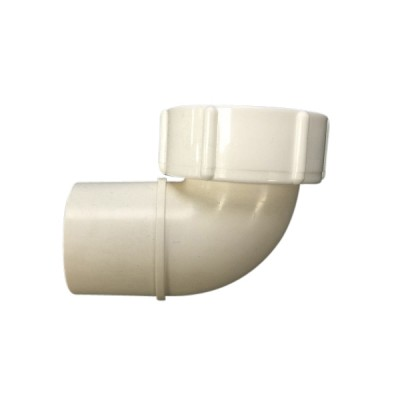50mm Cap & Lining Low Spigot Elbow Plastec 11964