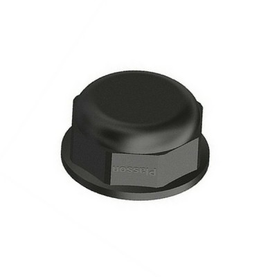 50mm Poly Cap Threaded