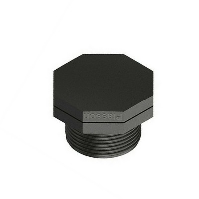 50mm Poly Plug Threaded