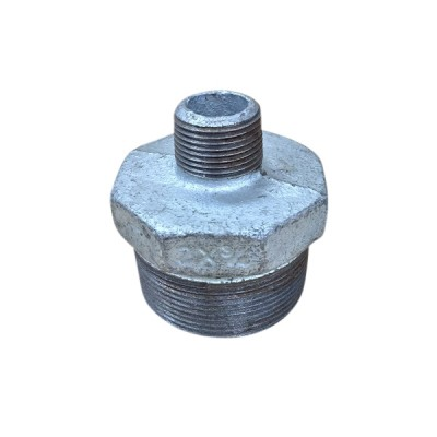 50mm X 20mm Galvanised Hex Nipple Reducing